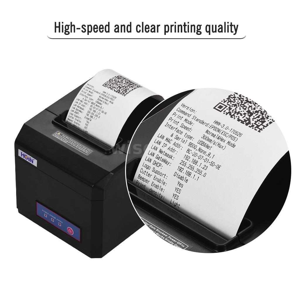 Details about Thermal Receipt Printer 58mm/80mm Auto Cutter Serial Ethernet  ESC/POS Print T8D5