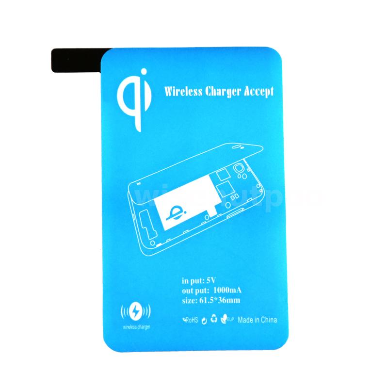 qi wireless charging receiver inductive coil for samsung galaxy s5 i9600 blue wp ebay. Black Bedroom Furniture Sets. Home Design Ideas